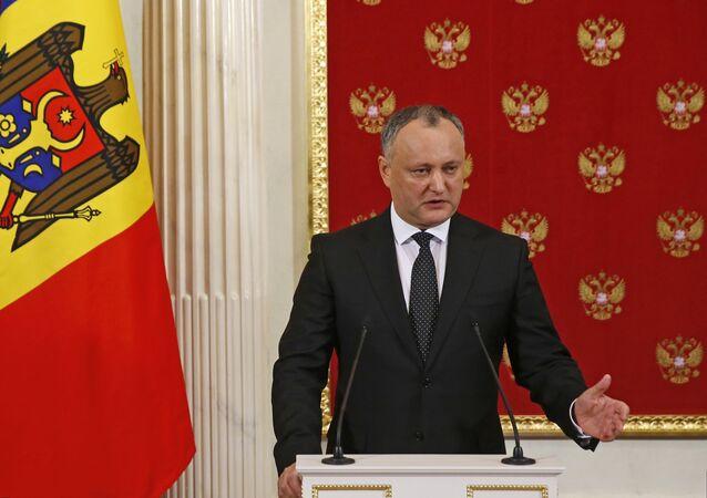 Igor Dodon, Président moldave