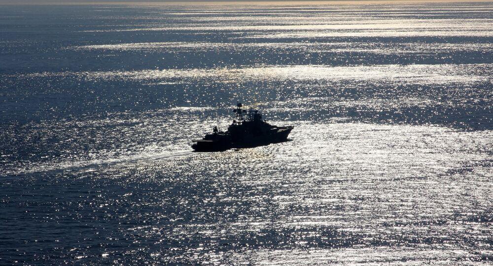 Le navire russe Severomorsk