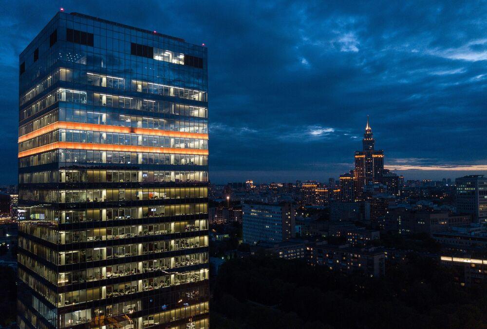 Moscou vu d'en haut