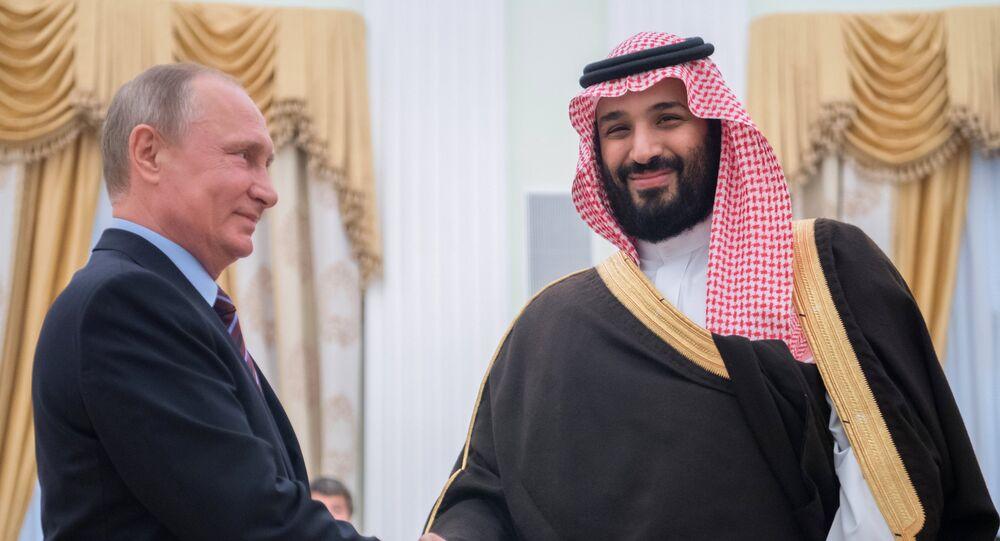 Un prince saoudien en visite dans la capitale russe