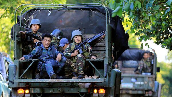Les militaires philippins à Marawi - Sputnik France