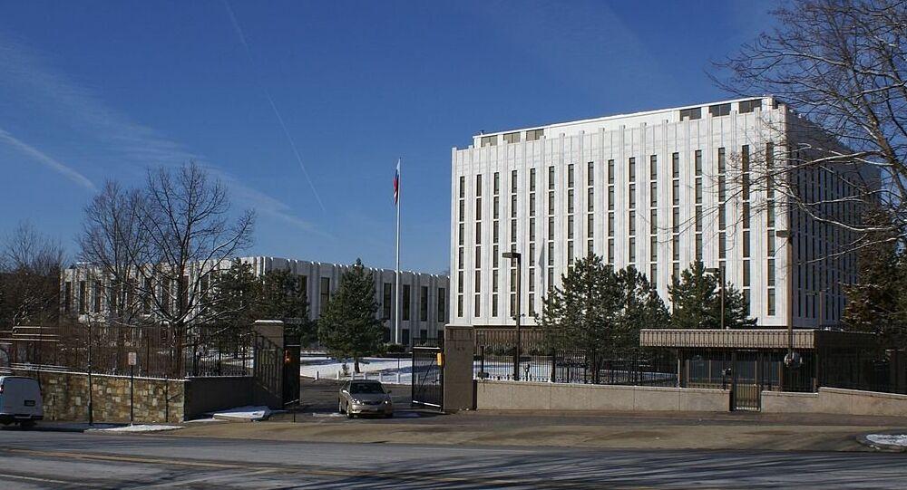 L'ambassade russe à Washington
