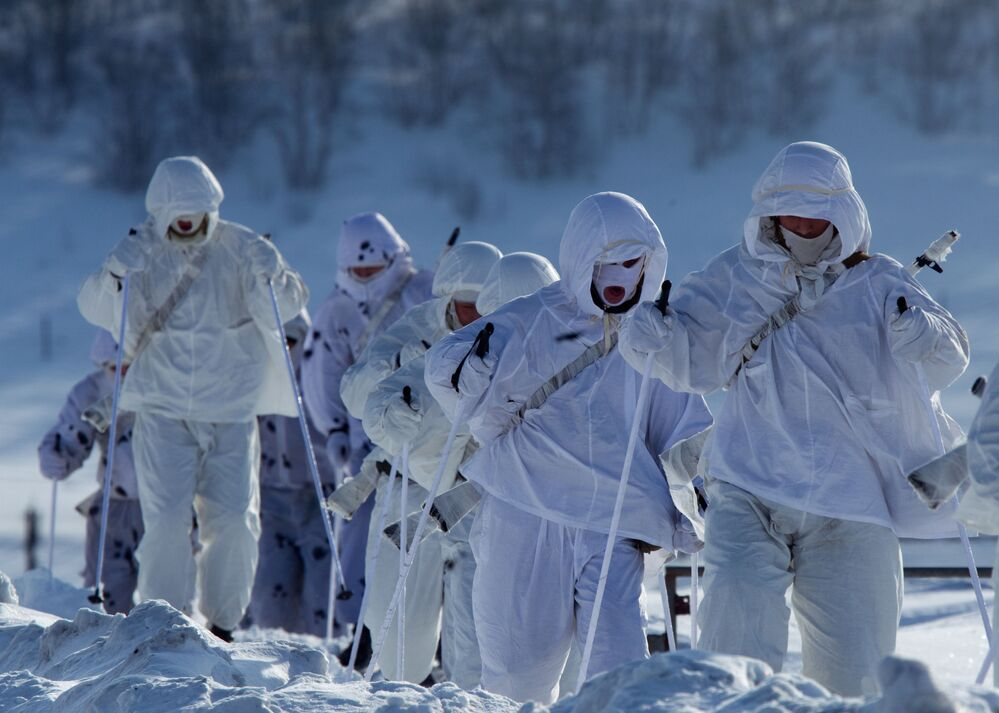 Les marins de la Flotte russe du Nord au jour le jour