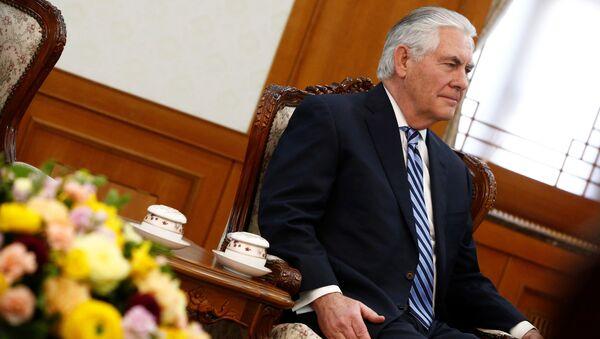 Le secrétaire d'Etat américain Rex Tillerson - Sputnik France