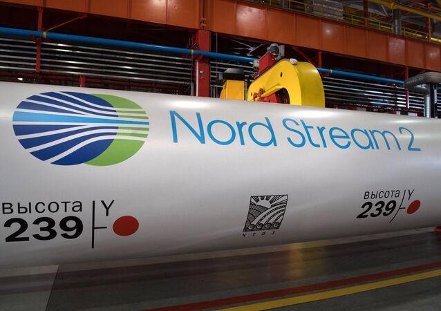 Le projet du gazoduc Nord Stream 2