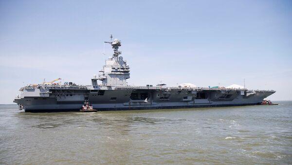 USS Gerald R. Ford - Sputnik France