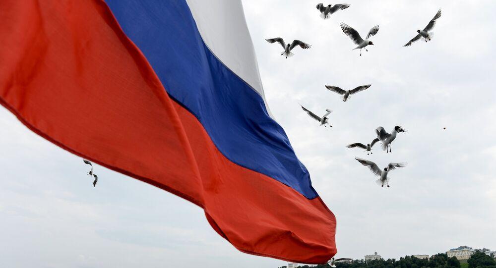 Le drapeau de Russie