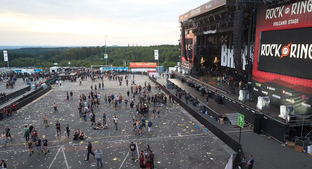 Le festival Rock am Ring évacué suite à une menace terroriste