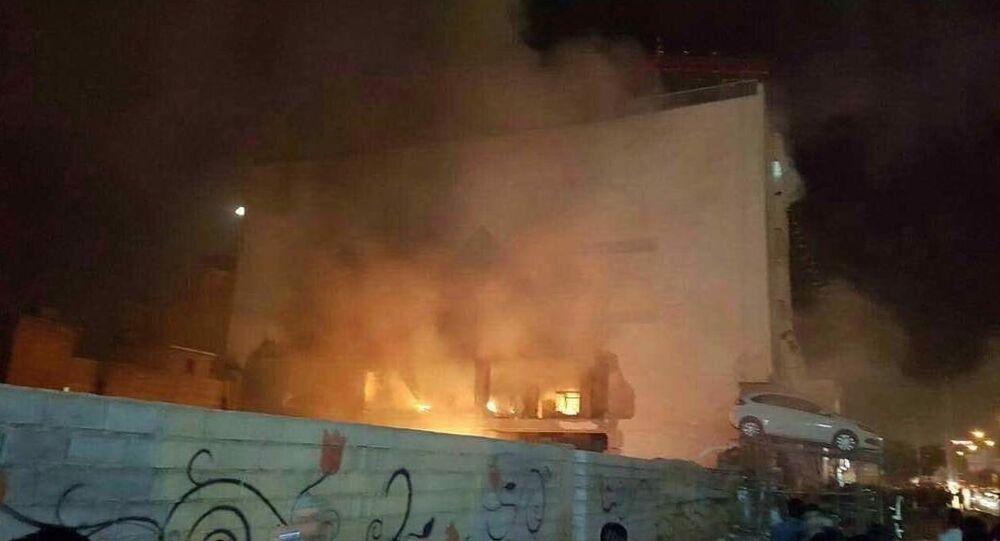 Explosion à Chiraz