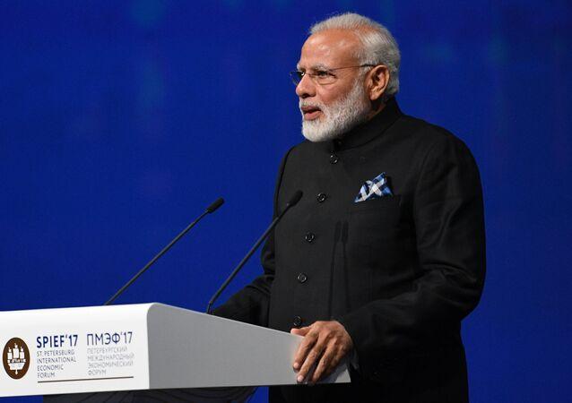 Premier ministre indien Narendra Modi