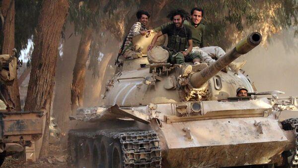 Membres de l'Armée nationale libyenne - Sputnik France
