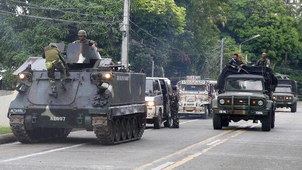 Militants de Daech aux Philippines - Sputnik France
