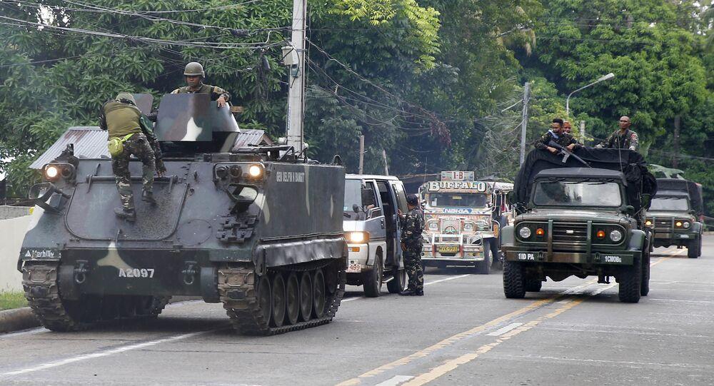 Militants de Daech aux Philippines