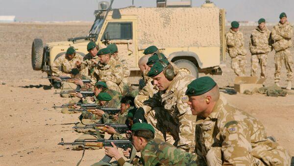 Militaires britanniques en Afghanistan - Sputnik France