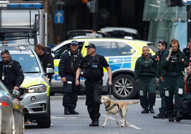 La police à Londres