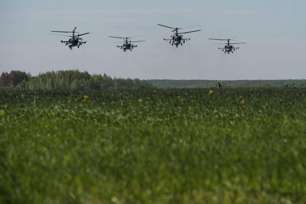 Les célébrations consacrées au 75e anniversaire de la 6e armée des forces aériennes russes