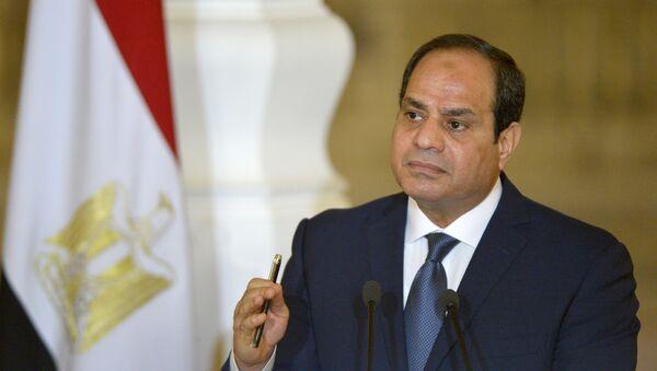le Président égyptien Abdel Fattah al-Sissi - Sputnik France