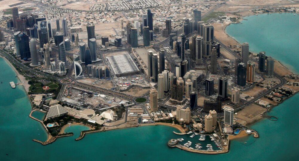 Le quartier diplomatique de Doha