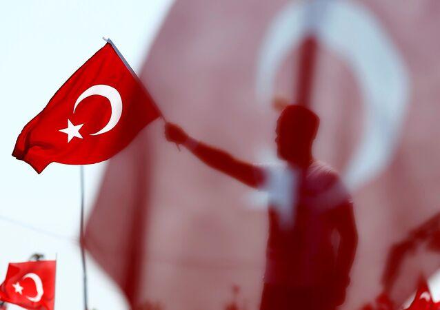 Le drapeau de Turquie