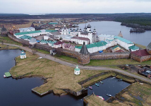 Les îles Solovki