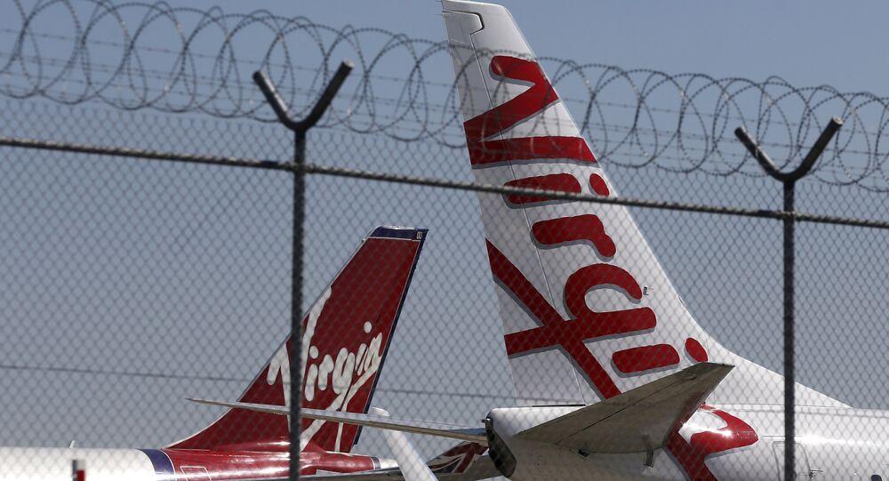 Avions de la compagnie aérienne Virgin Australia. Archive photo