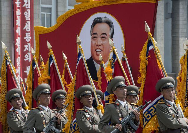 Défilé militaire en Corée du Nord