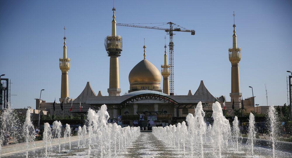 the mausoleum of the founder of the Islamic Republic Ayatollah Ruhollah Khomeini