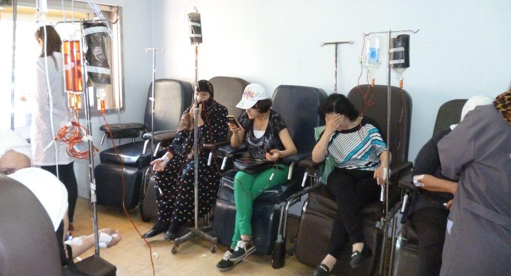 Un hôpital en Syrie
