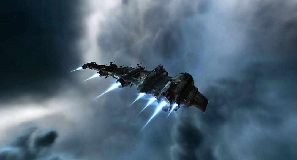 Un vaisseau spatial (image d'illustration)