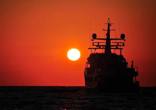 un navire (image de démonstration)