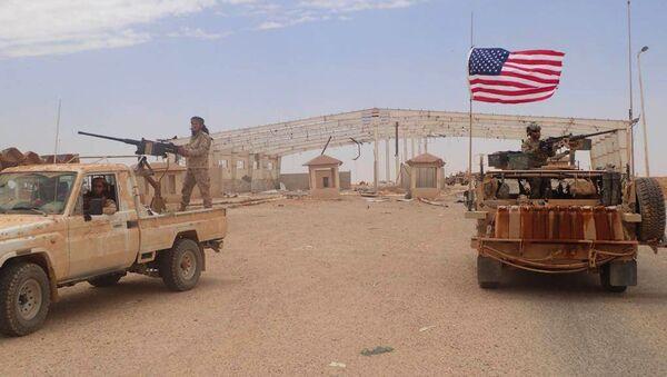 La région d'Al-Tanf, en Syrie - Sputnik France