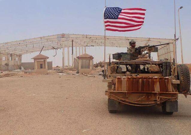 La région d'Al-Tanf, en Syrie