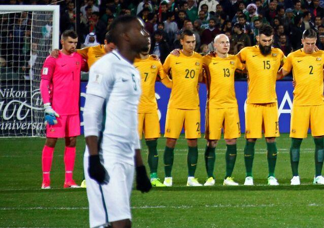 Match Arabie saoudite-Australie à Adelaïde