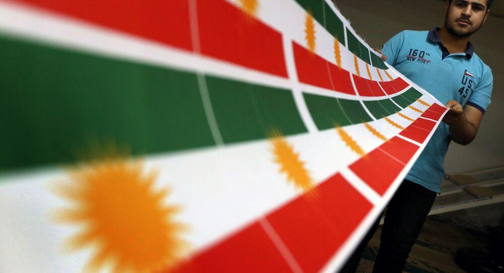 Drapeau kurdes