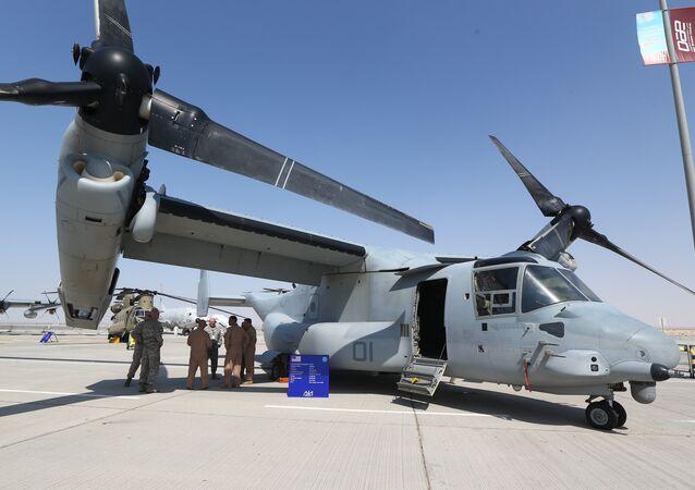 Un avion hybride V-22 Osprey