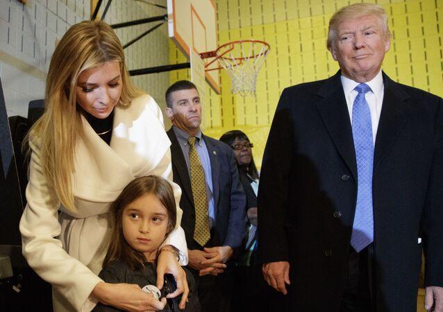 Donald Trump, Ivanka et sa fille Arabella