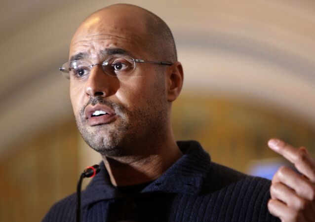 Saif Al-Islam Kadhafi. Archive photo