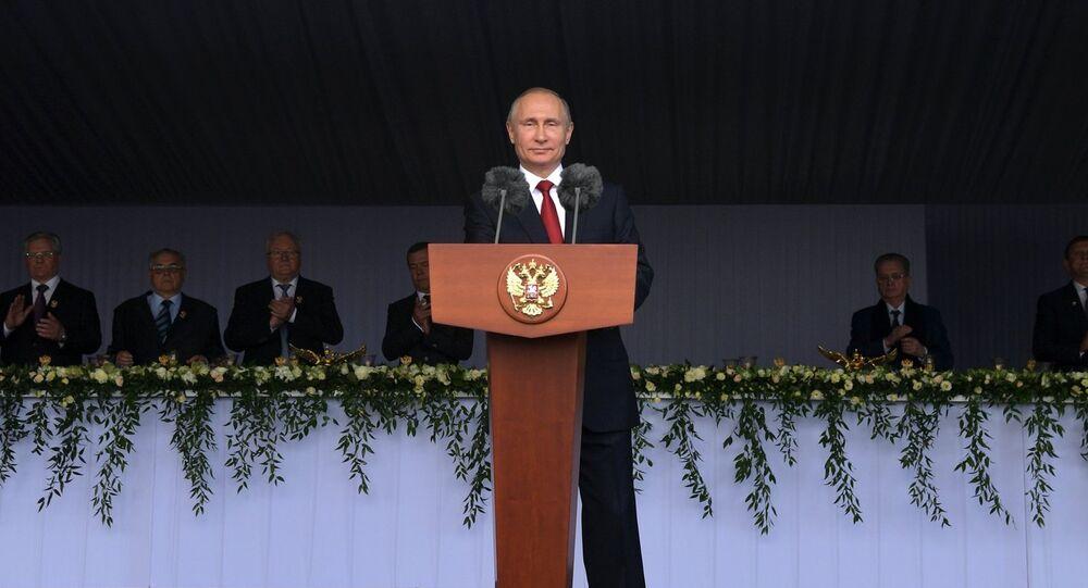 Discours du Président russe Vladimir Poutine à l'occasion de la fête nationale