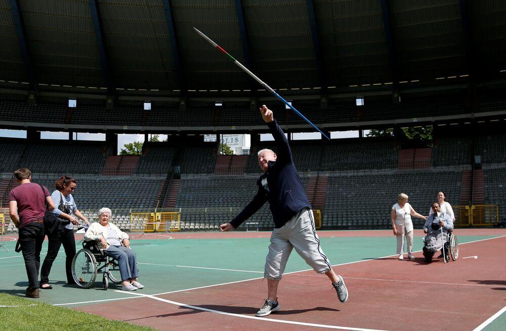 Les Olympiades pour les seniors à Bruxelles