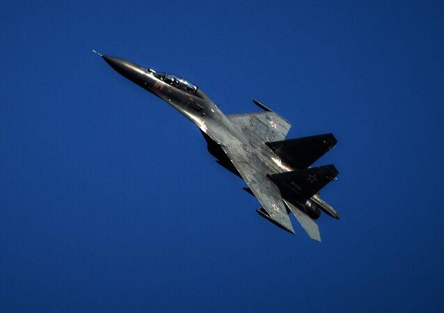 Su-27. Archive photo