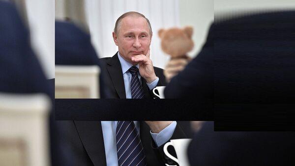 Poutine, derrière le président, le Geek! - Sputnik France