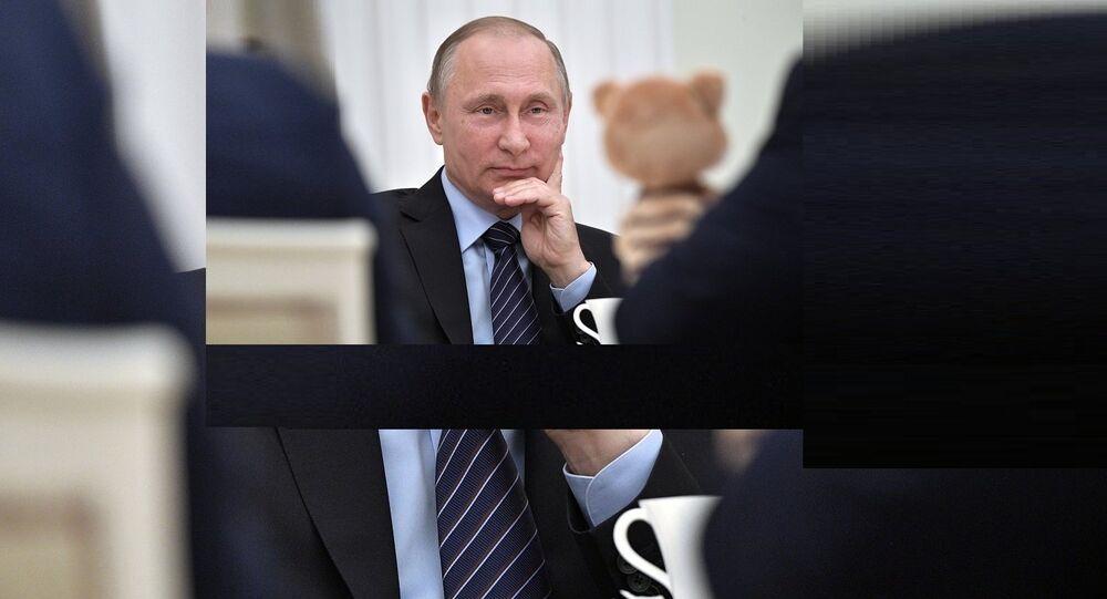 Poutine révèle le secret de sa bonne humeur
