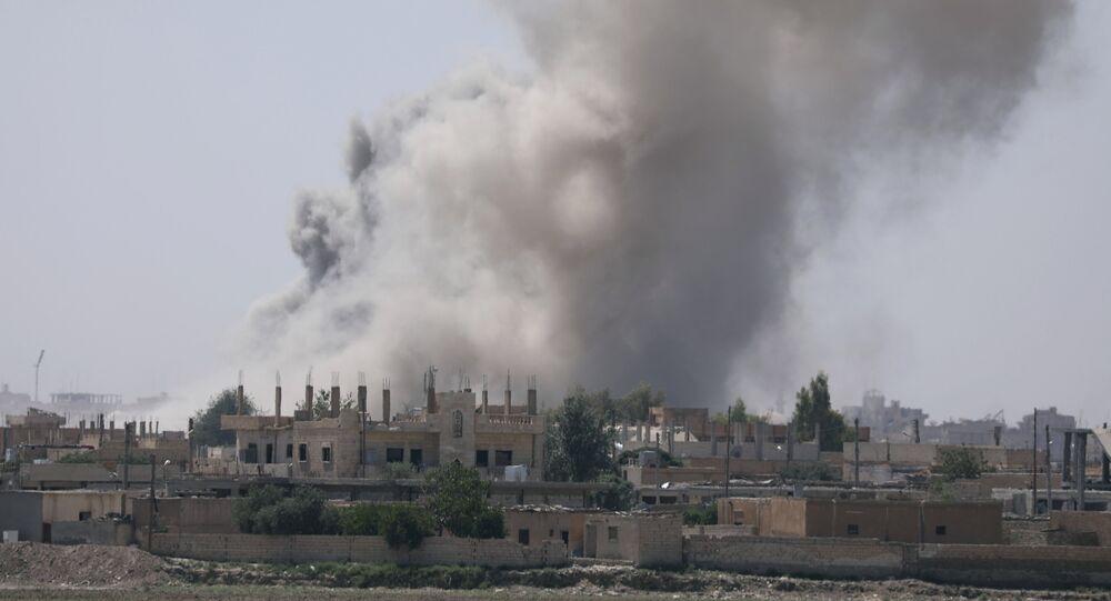 Raqqa, image d'illustration