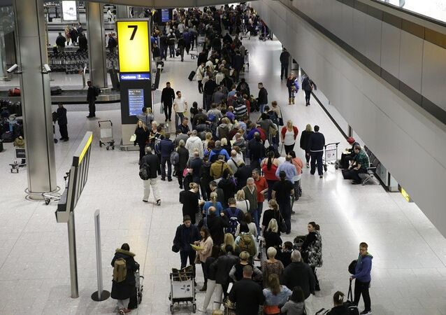 A l'aéroport Heathrow