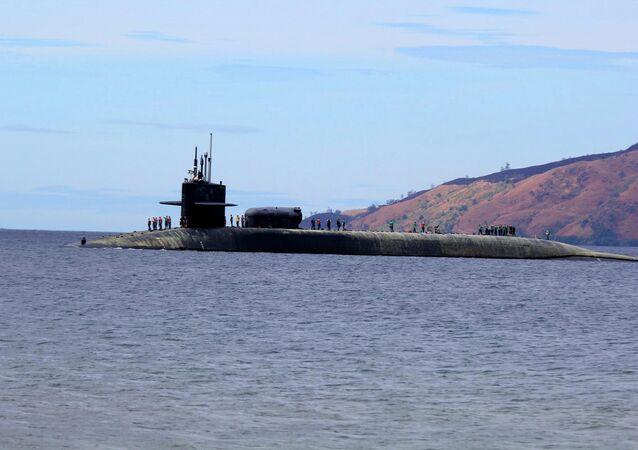 Le sous-marin USS Michigan (SSGN-727)