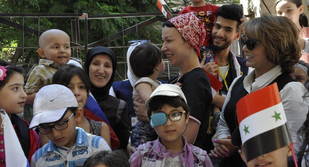 La Russie livre en Syrie des médicaments pour les enfants atteints de cancer