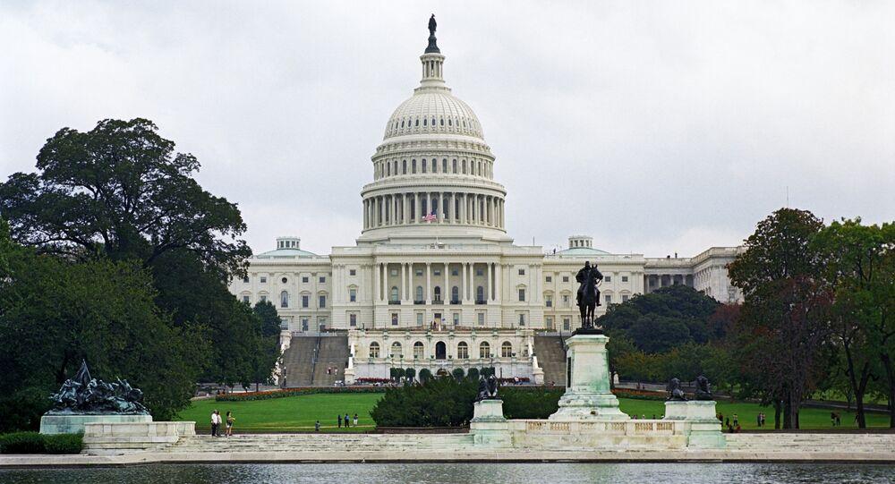 Le siège du Congrès américain