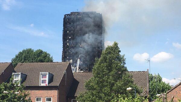 Grenfell Tower fire - Sputnik France