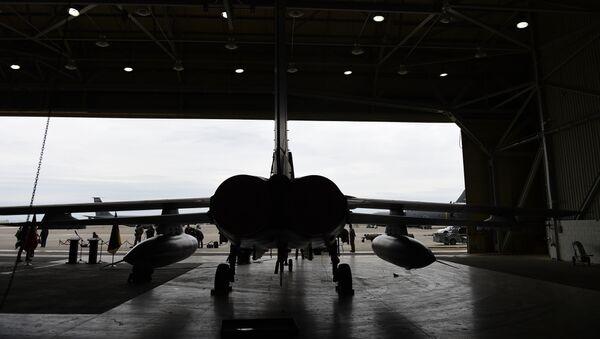 Un avion allemand Tornado dans un hangar sur la base aérienne à Incirlik, en Turquie, le 21 janvier 2016 - Sputnik France