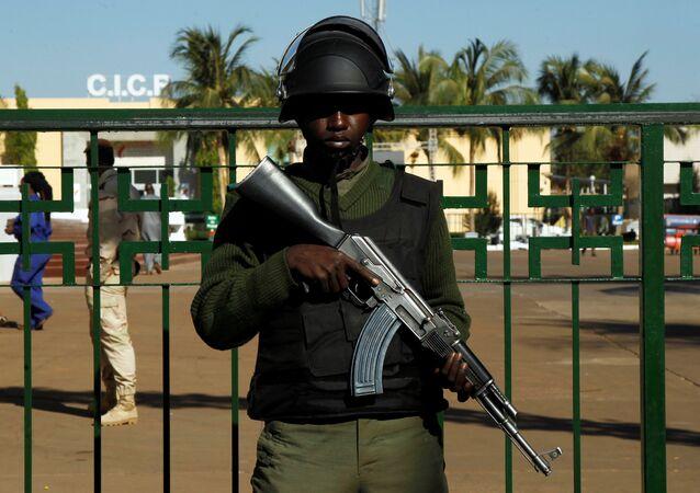 Un militaire malien